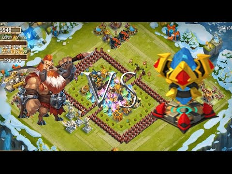 Castle Clash Best Base/Defense For Challenge 2/ HBM 2 (Magic Tower)