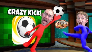 Crazy Kick! ⚽🦶Gameplay and Review