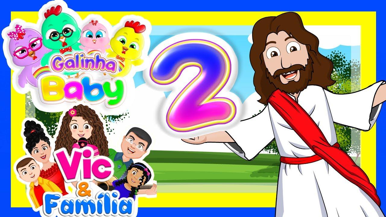 Novo Dvd Gospel 2 - Galinha Baby com Vic e Família em faça desse mundo um lugar cheio de vida!