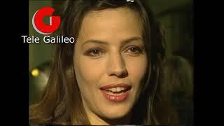 Terni 1991: La trasmissione Piacere Rai Uno al Politeama, intervista Elisabetta Gardini