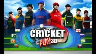 Cricket Play 3D - Live The Game