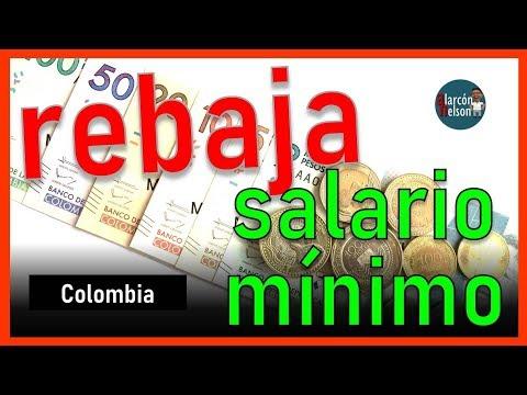 ¿Aceptarías que le bajen al salario mínimo?
