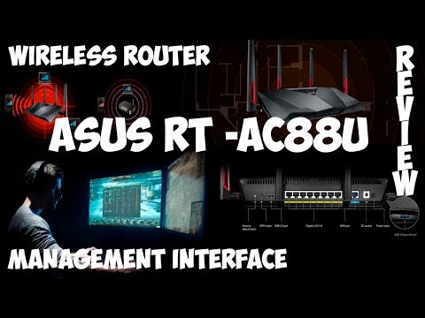 ASUS RT AC88U   Management Interface Review Gearbest Shopping Online