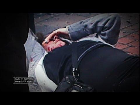 Boston Marathon bombing victim describes losing her legs