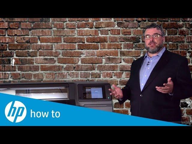Jak pobrać profil kolorystyczny oraz jak skalibrować drukarkę - HP Latex
