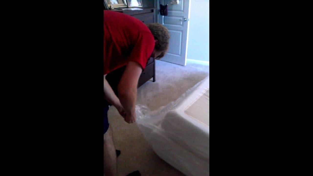 Purasleep Synergel Memory Foam Mattress Unpacked Youtube