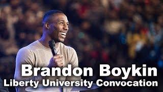 Brandon Boykin - Liberty University Convocation