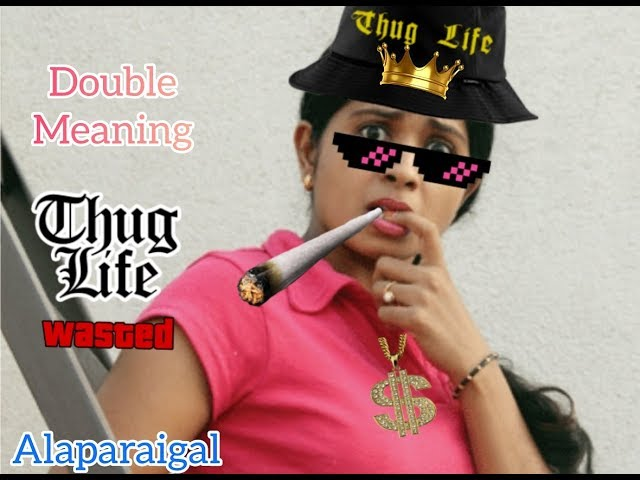 Double meaning comedy thug life compilation tamil cinema ...