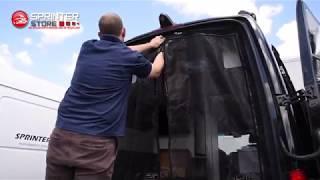 How To: Install a Rear Screen Door | Mercedes-Benz Sprinter Van