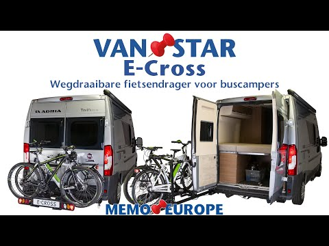 van swing pivoting module for bicycle