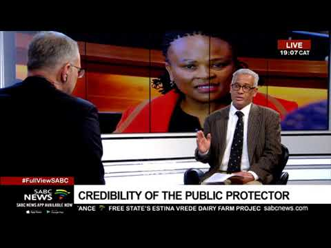 THE POLITICAL VIEW: Credibility of the Public Protector - Angelo Fick