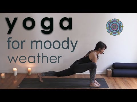Moody Weather Power Yoga Workout