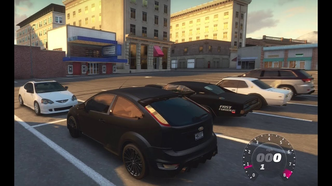 Forza Horizon Street Car Meet 600whp Ford Focus 500 Whp