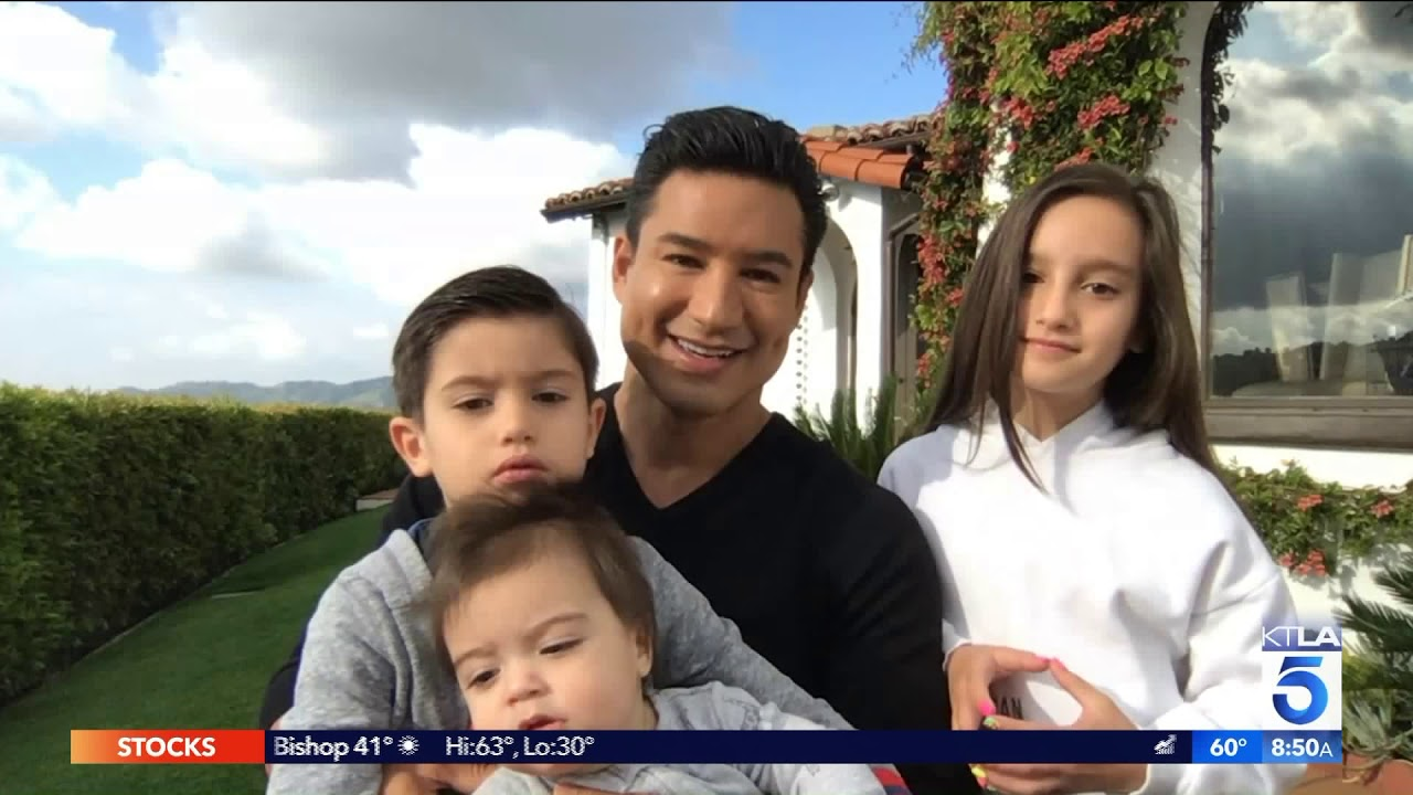 Mario Lopez And His Family On How He S Staying Busy During