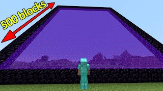 The Biggest Nether Portal EVER!