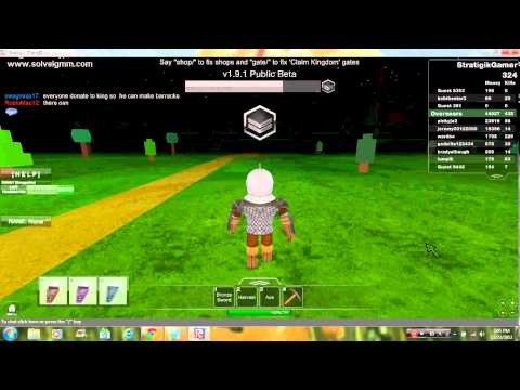 This is how to hack money on Medieval Warfare on Roblox