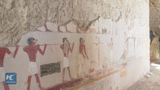 Egypt announces discovery of 3,500-year-old tomb in Luxor