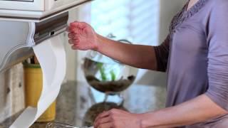 Countertop/Under Cabinet Towel Dispenser