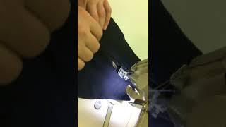 видео 14. Швейные машины однониточного цепного стежка