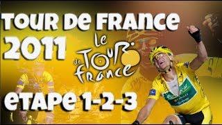 TDF18 - TOUR DE FRANCE 2011 EUROPCAR - Etape 1-2-3