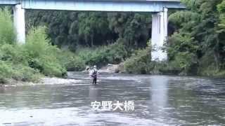 楽しい鮎釣り気分! 美山川④漁業協同組合下