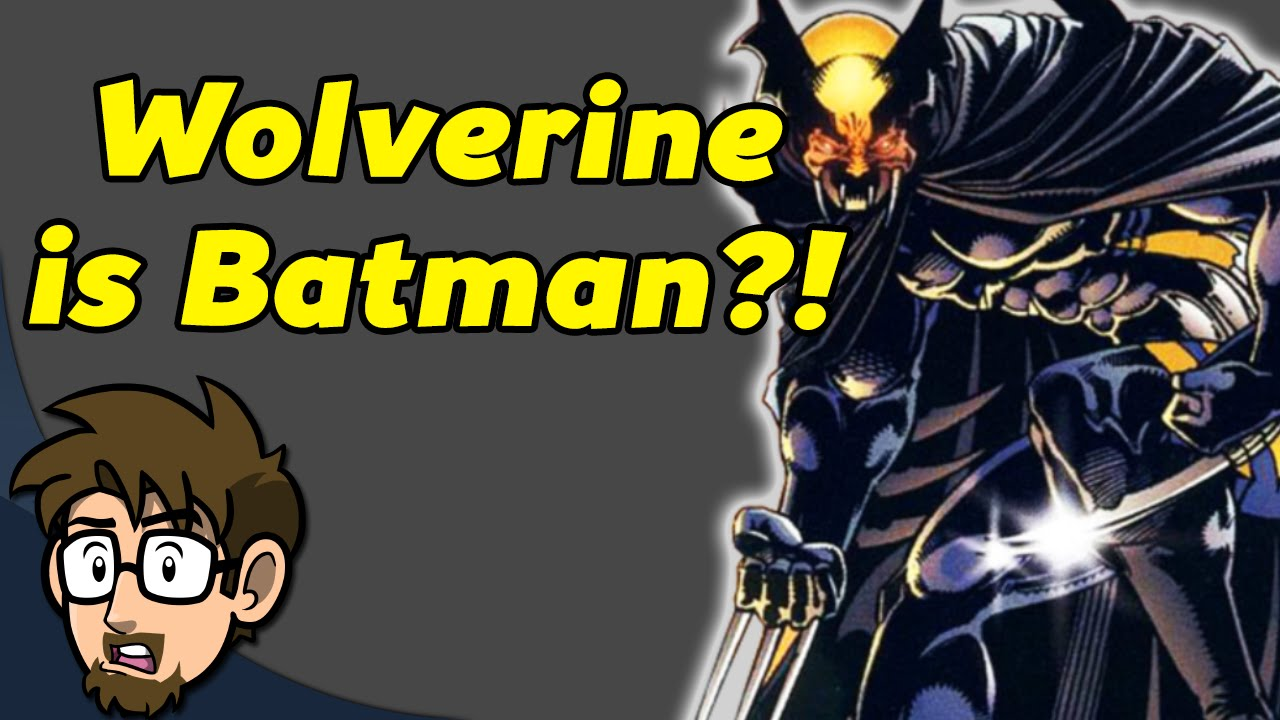 batman fused with wolverine