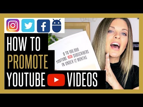 How To Promote YouTube Videos to Get More Views