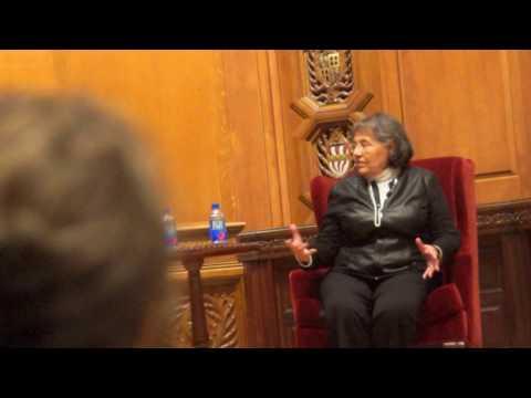 Ficklin Media Diane Nash at Yale, MLK, remarks Part 7