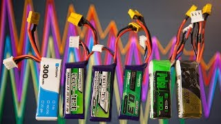 300mAh Battery Testing - Feeding Your 2S Whoop