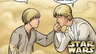 How Luke Met Young Anakin in a Vision [Legends] - Star Wars Explained
