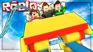 Roblox Adventures - FAILED ROLLER COASTER DISASTER! (Themenpark Tycoon 2)