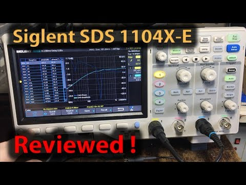 #320 Siglent SDS 1104X-E 4 Channel Scope Review