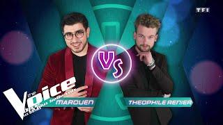 Claude François - Comme d'habitude   Marouen VS Théophile Renier    The Voice 2019   Battles...