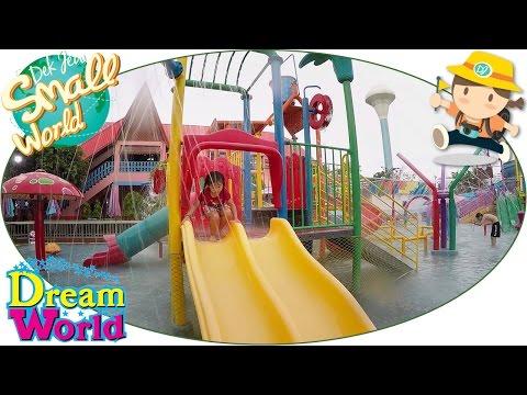 เด็กจิ๋วเที่ยว Dream World ตอน13 สวนน้ำ Water Fun [N'Prim W291]
