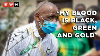 ANC secretary-general Ace Magashule was in Soweto on 31 March 2021 to plant trees following party's deadline for him to step aside in 30 days. He faces charges of fraud and corruption for a failed asbestos removal contract in Free State.  #ANC #AceMagashule #CyrilRamaphosa #StepAside