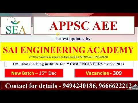 APPSC AEE 2018 SYLLABUS, SELECTION PROCESS AND SUBJECT WISE WEIGHTAGE