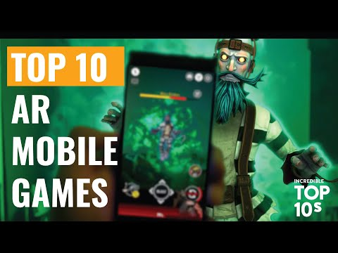 10 Best AR And Augmented Reality Games For IOS And Android!