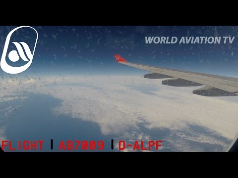 Air Berlin A330 AB7009 Full Flight Ft. Myers - Dusseldorf at night [HD]