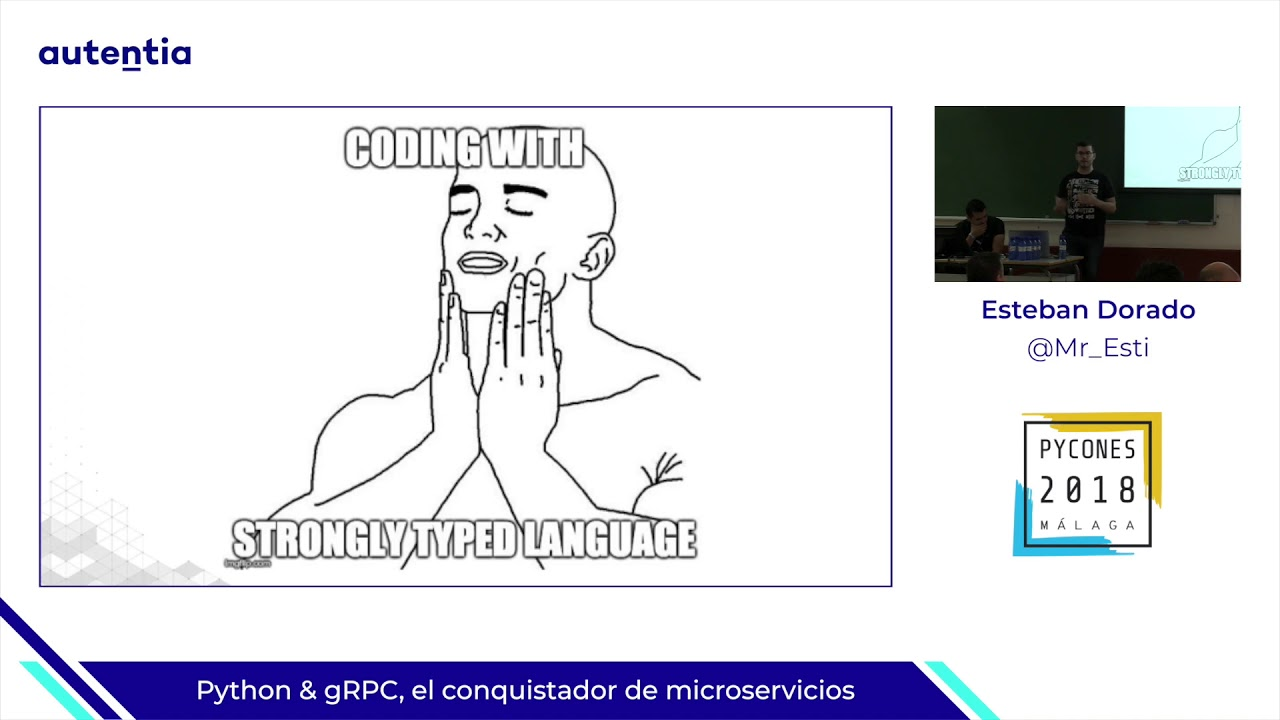 Image from Python & gRPC, el conquistador de microservicios