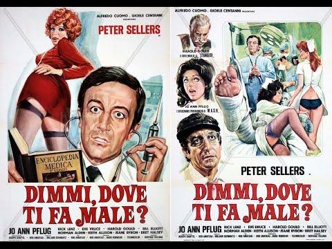 DIMMI DOVE TI FA MALE ? / Foto Cinema Dimmi, dove ti fa male? 1972 Commedia Peter Sellers