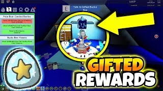 FINISHING THE NEW GIFTED BEE QUESTS ON FAN'S ACCOUNT! *GIFTED REWARDS* (Roblox Bee Swarm Simulator)