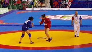 Ч.Европы по самбо.80 кг.Финал.Женщины.(European Championship sambo.80 kg. The final. Women)
