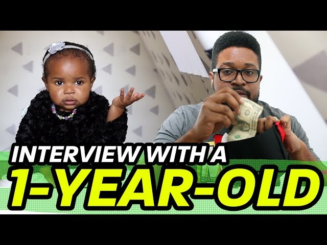 New Father Chronicles - Interview With A 1-Year-Old