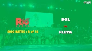 Video DOL vs FLETA / 1 on 1 Round of 16 / R16 Korea 2015 / Allthatbreak.com download MP3, 3GP, MP4, WEBM, AVI, FLV Desember 2017