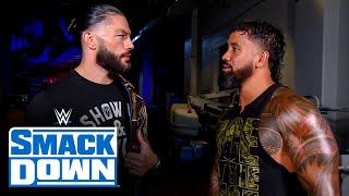 Jey Uso asks Roman Reigns about his recent actions: SmackDown, September 4, 2020