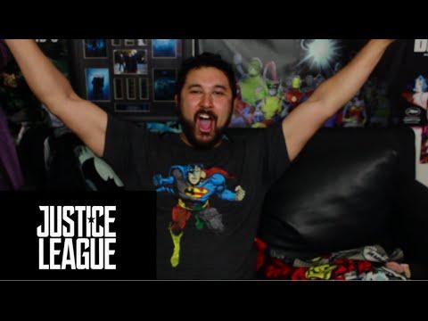 JUSTICE LEAGUE OFFICIAL COMIC-CON TRAILER REACTION & REVIEW!!!