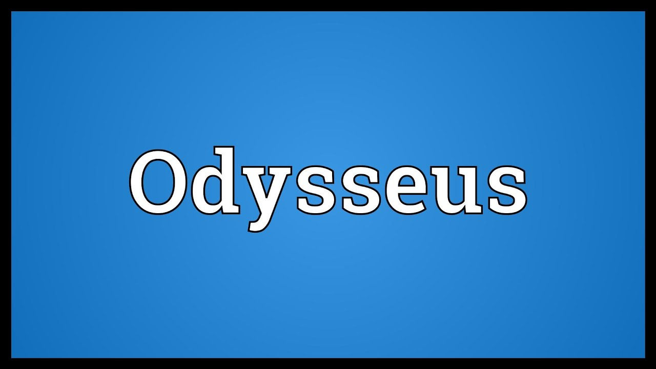 what is the meaning of odysseus