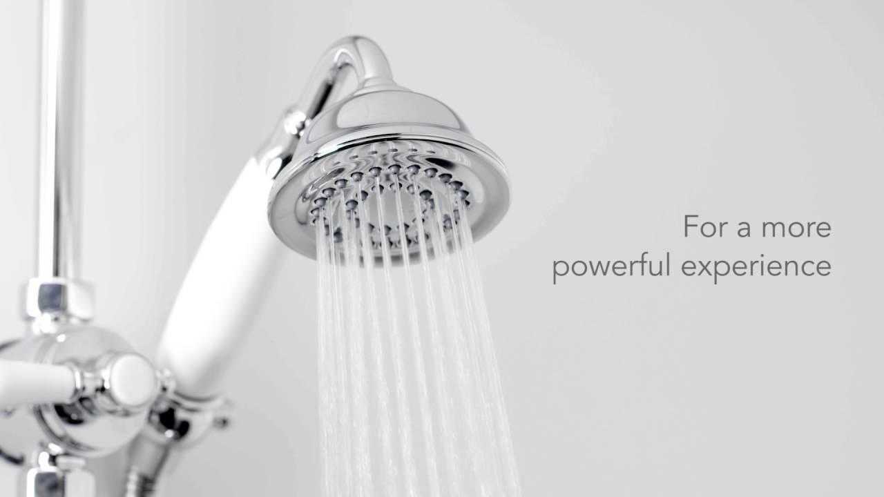 Mira Realm with Diverter ERD Mixer Shower - YouTube