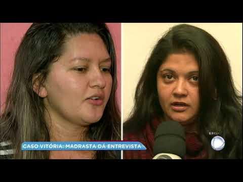 Madrasta confirma desavenças antigas mas nega relação com morte de Vitória