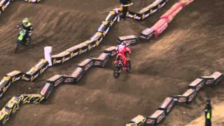 Supercross LIVE! 2014 - Two Minutes on the Track - 450 Second Practice in Detroit